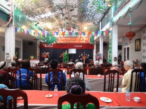 Sinh hoạt cộng đồng tại Viện dưỡng lão Tuyết Thái